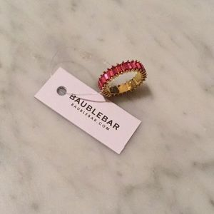NWT PAIR Baublebar Mini Alidia Stacking Rings
